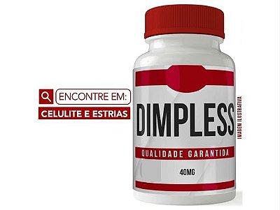 DIMPLESS 40MG 30 CÁPSULAS - CELULITE E ESTRIAS