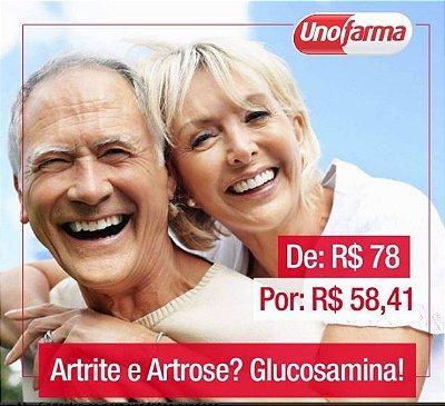 GLUCOSAMINA 500MG 90 CÁPSULAS - CICATRIZANTE - DORES NAS ARTICULAÇÕES