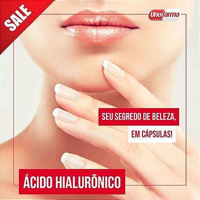 ÁCIDO HIALURÔNICO 40MG 30 CÁPSULAS  Anti Rugas - Anti-envelhecimento