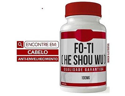 FO TI (HE SHOU WU) 100MG 60 CÁPSULAS - Cabelo - Anti envelhecimento