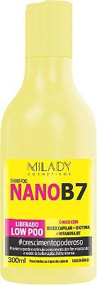 Shampoo NanoB7 Milady Cosméticos