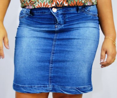 eee1b33cd Saia Jeans Faro Feminina Plus Size