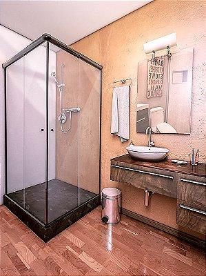 Box  para banheiro em vidro temperado