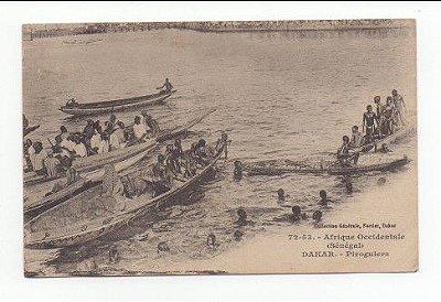 Cartão Postal Antigo África Ocidental - Senegal - Dakar 1920