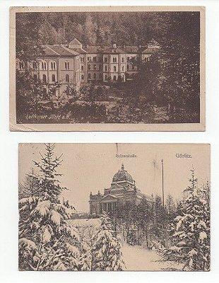 2 Cartões Postais Antigos da Alemanha
