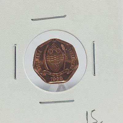 Moeda da Botswana - 5 Thebe - 1998