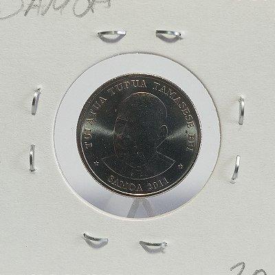 Moeda da Samoa - 10 Sene - 2011 - Alumínio