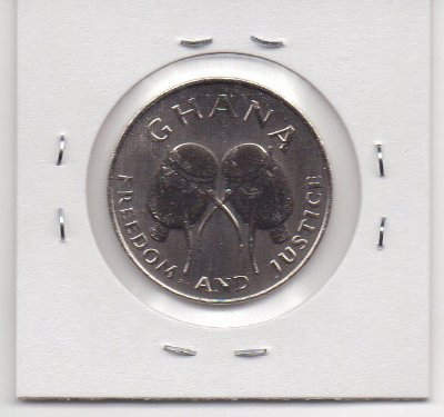 Moeda de Gana 50 cedis, 1999