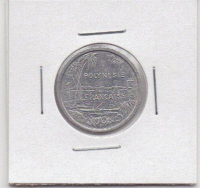 Polinésia Francesa 1 franco, 1983 - MBC