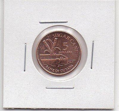 Moeda da Guiana 5 dólares - 2012