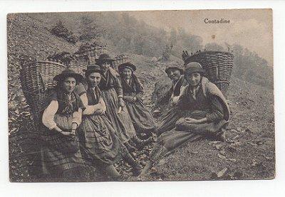 Cartão Postal Antigo - Lugano - Itália - 1920