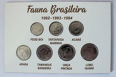 Série Fauna Brasileira 1992-1994 - Datas variadas