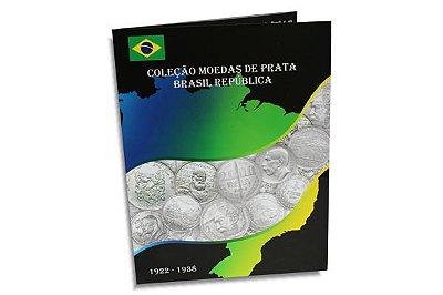Álbum para Moedas de Prata 1922-1938 - Brasil República
