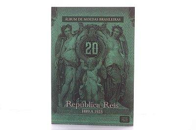 Álbum De Moedas Brasileiras - República Réis 1889 A 1923