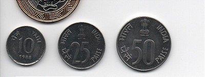 Set Moedas da Índia