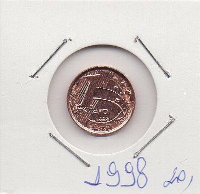 Moeda de 1 centavos de 1998