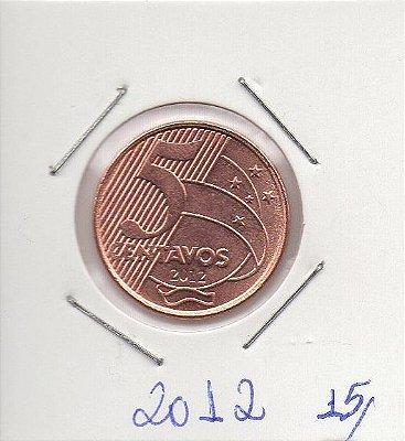 Moeda de 5 centavos de 2012