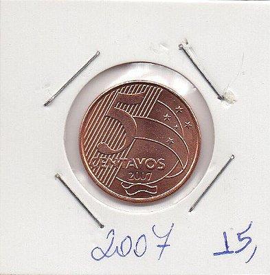 Moeda de 5 centavos de 2007