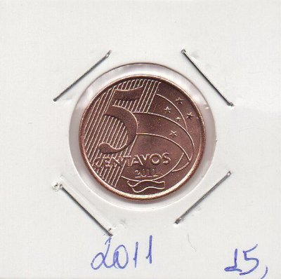Moeda de 5 centavos de 2011