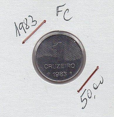 Moeda de 1 Cruzeiro de 1983