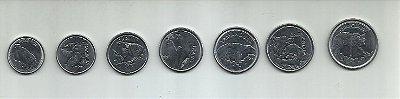 Série com 7 moedas da Fauna brasileira