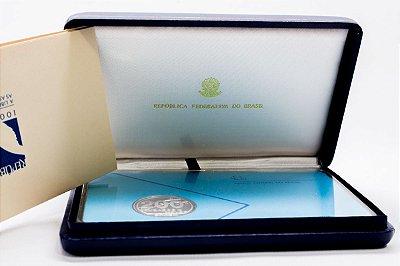 Moeda Comemorativa 200 Cruzados Novos - Centenário da República 1889 -1989