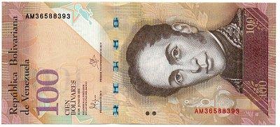 Cédula de 100 Bolívares da Venezuela