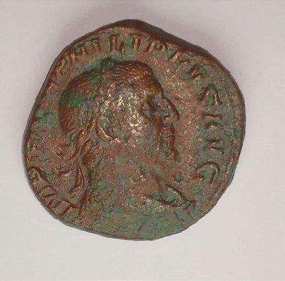 Moeda do Império Romano - Felipe I o Árabe