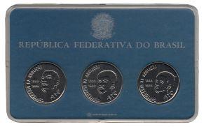 Série com 3 moedas do Axé - PROVA