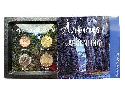 Display de Plástico Argentina com 4 Moedas