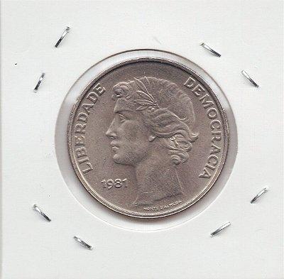 Moeda de Portugal - 1981 - 25 escudos
