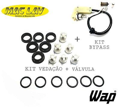 Kit Reparo Completo Wap Podium + Válvula Bypass Modelo Novo