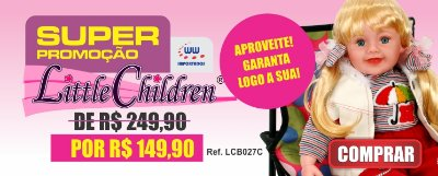 boneca little children 027c