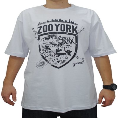 32d7400f951d5 Camiseta Zoo York Neighborhood