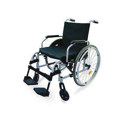 Cadeira de Rodas Dobrável Alumínio Start C1 Economy 45,5cm - Polior
