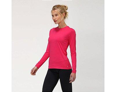 Camiseta UVPRO Com Proteção Solar UV.LINE Pink
