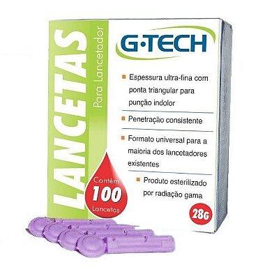 Lancetas caixa c/100 unidades