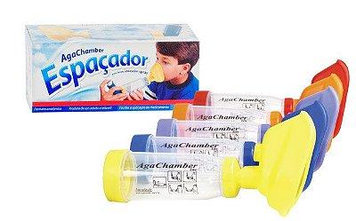Agachamber espaçador uso infantil e adulto Agaplastic