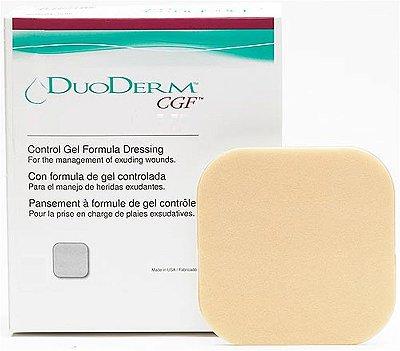 Duoderm CGF curativo com fórmula de gel controlada 10 x 10 cm Convatec (hosp)