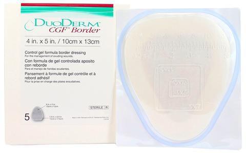 Duoderm CGF Border 10cmx13cm triangular Convatec (hosp)