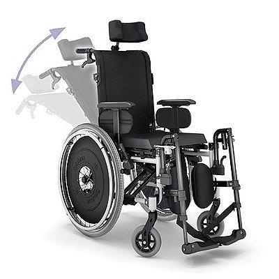Cadeira rodas alum.avd reclinavel 44