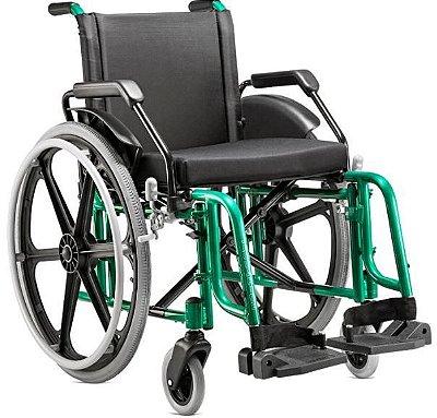 Cadeira de rodas Fit em alumínio pneu inflável