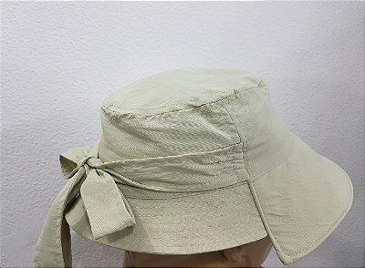 Chapéu Vick tamanho único com proteção UV mostarda