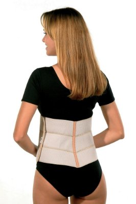 Faixa abdominal elástica 20cm BC0084-20