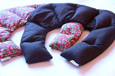 Almofada térmica cervical - cores e estampas aleatórias