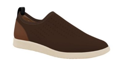 Tênis slip on masculino cafe ac 5307