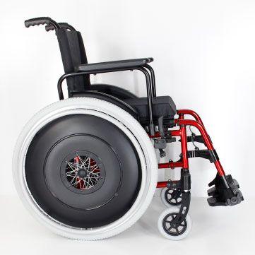 Cadeira de rodas Start 43 MA3S Ortomobil Alumínio