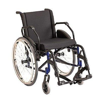 Cadeira de rodas alumínio k2 ortobras dobrável