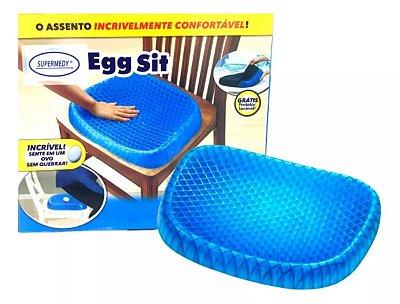 Almofada assento de gel de silicone ortopédico EGG Sit