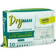 Absorvente para incontinência dryman masculino